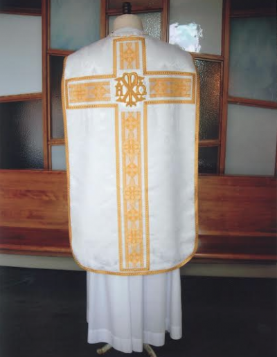 Roman Catholic White Vestments