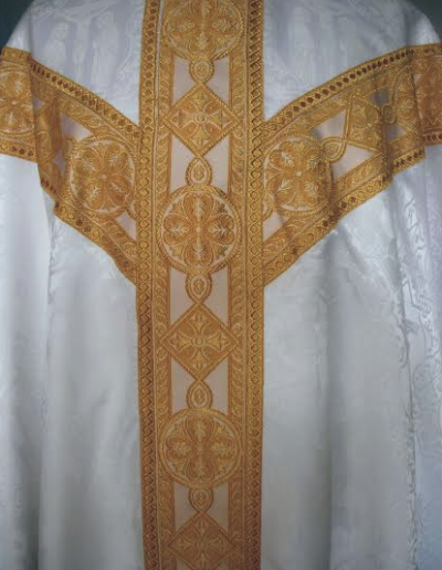 Roman Catholic White Vestments