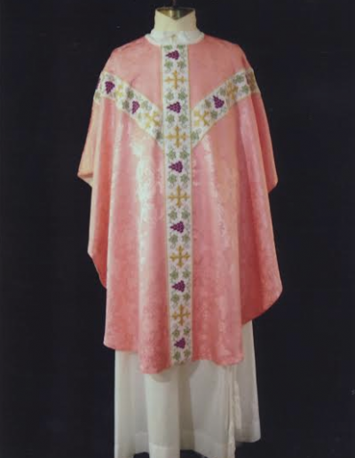 Roman Catholic Rose Vestments